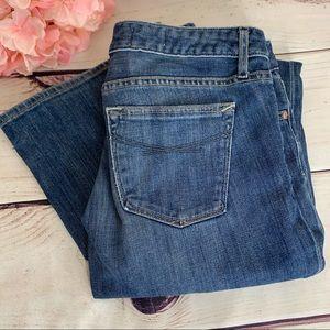 GAP 1969 Wide Leg Curvy Fit Ladies Blue Jeans
